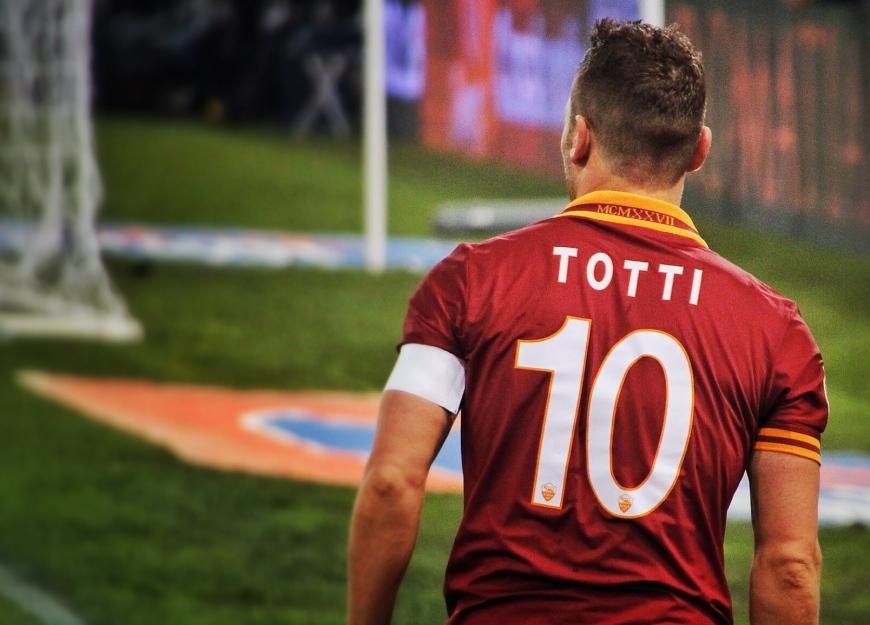 totti roma 10