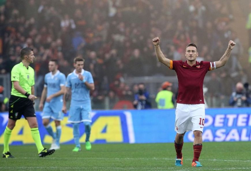 totti rome derby