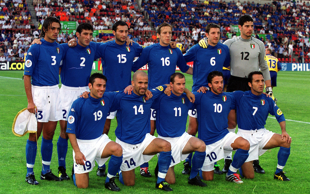 4aca150ce19 Classic Calcio Kits: Italy Euro 2000 – The Gentleman Ultra