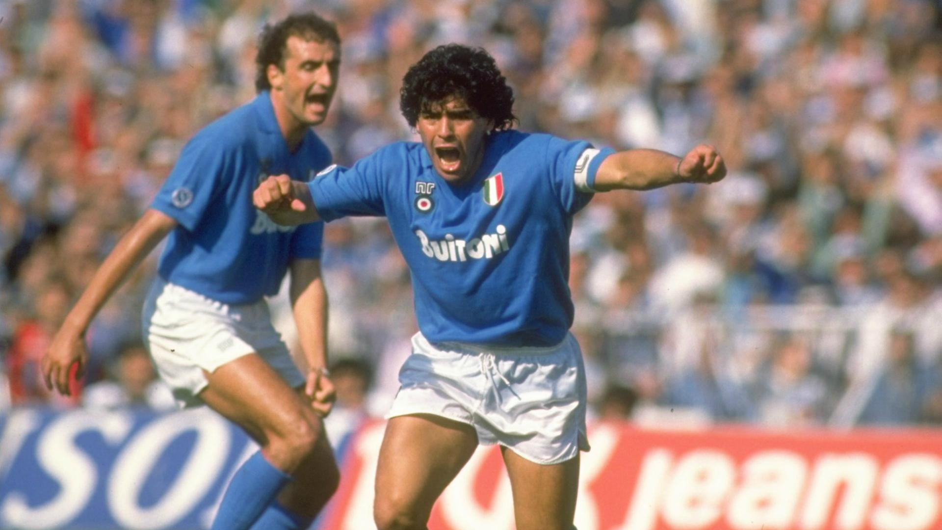 Diego Armando Maradona Six For 60 The Gentleman Ultra