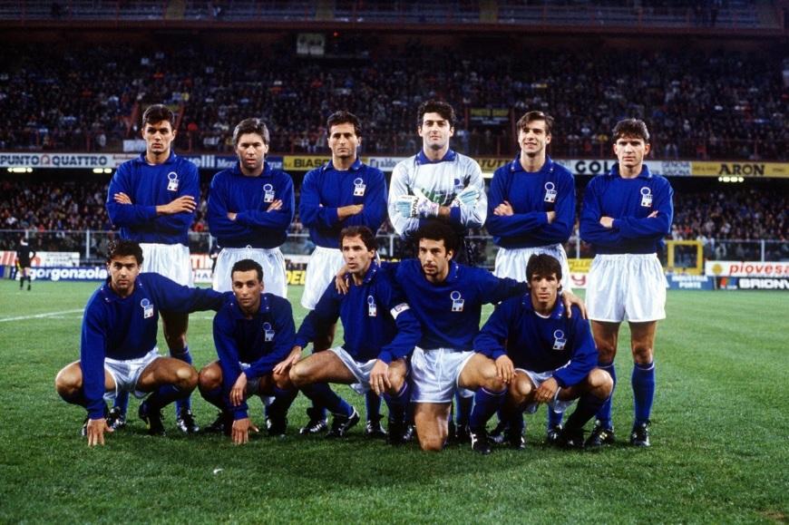 Italy Euro 92 qualifcation