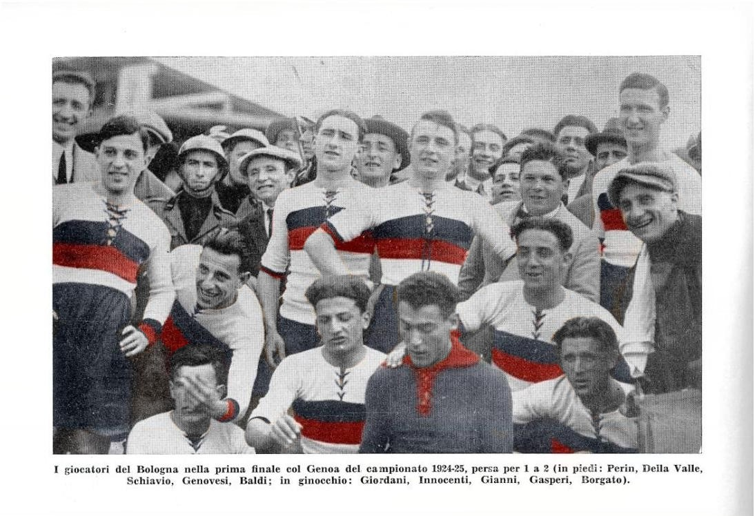 Red And Blue Rivals Bologna Genoa And The Great Theft Of 1925 The Gentleman Ultra
