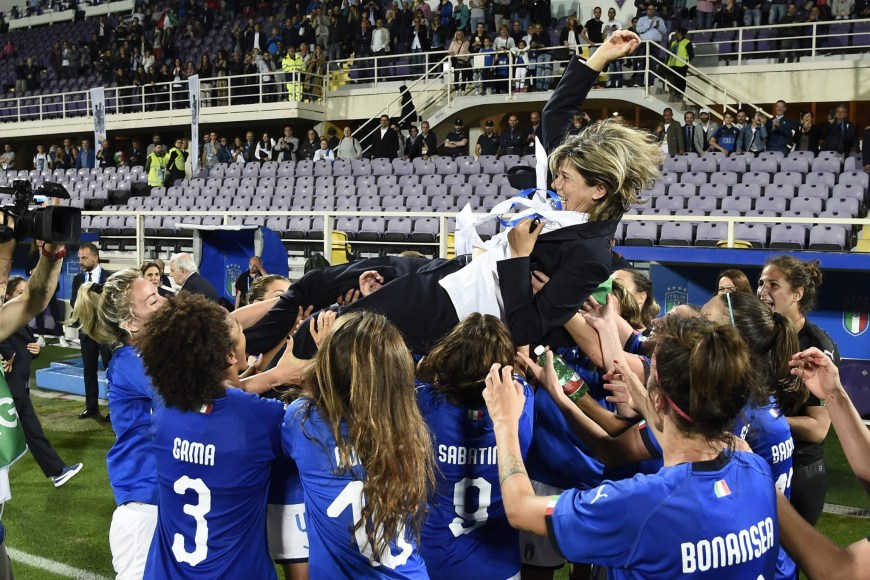 Italia-Portogallo qualificazioni Mondiali femminili Francia 2019
